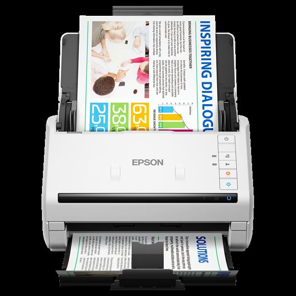 EPSON Docuscanner - WorkForce DS-770 (A4, 600 DPI, 45 lap/perc, USB/opcionális LAN)