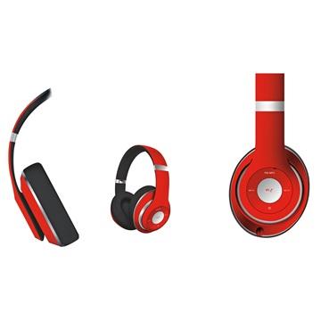 FREESTYLE Fejhallgató Rádiós Bluetooth és mikrofon FH916 sorozat - piros 453cf08a5f