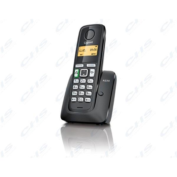 GIGASET ECO DECT Telefon A220 fekete Magyar menü