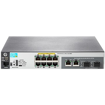 HPE Aruba 2530 8 PoE+ Internal PS Switch
