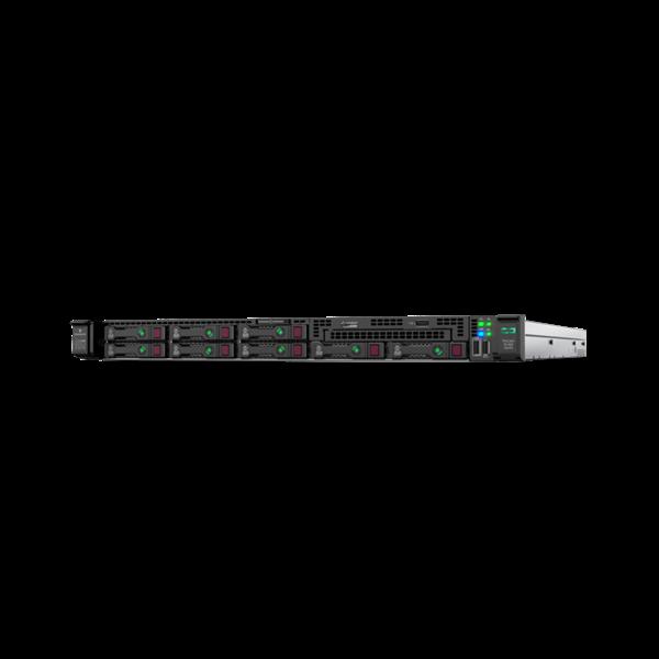 HPE rack szerver ProLiant DL360 Gen10, Xeon-S 8C 4208 2.1GHz, 16GB, NoHDD 8SFF, P408i-a, 1x500W