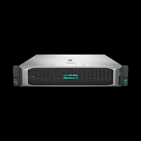 HPE rack szerver ProLiant DL380 Gen10, 2x Xeon-S 12C 5118 2.3GHz, 64GB, No HDD, P408i-a, 2x800W