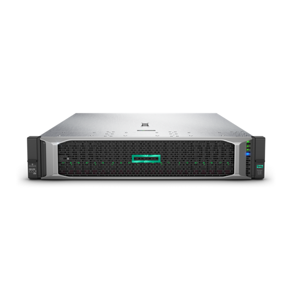 HPE rack szerver ProLiant DL380 Gen10, Xeon-S 8C 4110 2.1GHz, 16GB, No HDD, P408i-a, 1x500W