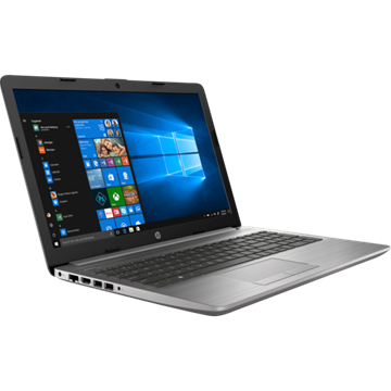 "HP 250 G7 15.6"" FHD AG, Core i3-7020U 2.3GHz, 4GB, 256GB SSD, Win 10, ezüst"