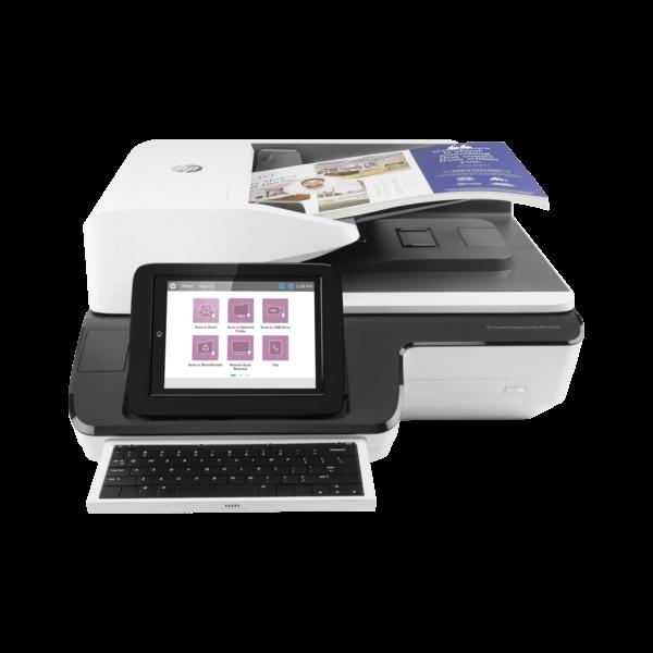 HP Docuscanner HP Scanjet Enterprise Flow N9120 fn2, USB, DADF, A3 120lap/perc, 600 dpi, Síkágyas