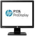 "HP LED Monitor 17"" ProDisplay P17A 1280x1024, 1000:1, 250cd, 5ms, fekete"