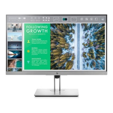 "HP LED Monitor 23.8"" EliteDisplay E243, 1920x1080, 16:9, 1000:1, 250 cd, 5ms, ezüst-fekete"