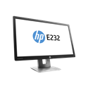 "HP LED Monitor 23"" EliteDisplay E232, 1920x1080, 1000:1, 250 cd, 7ms, fekete"