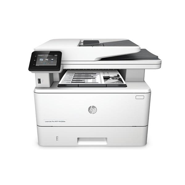 HP Lézer MFP NY/M/S LJ Pro 400 M426dw, fekete, 256MB, USB/Háló/WIFI, A4 38lap/perc FF, 600x600