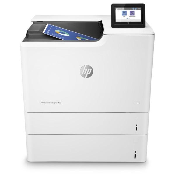 HP Lézernyomtató CLJ Enterprise M653x, színes, 1GB, USB/Háló, A4 56 lap/perc, 1200x1200 duplex #B19