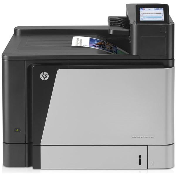 HP Lézernyomtató CLJ Enterprise M855dn A3, színes, 1024MB, USB/Háló, A4 46lap/perc FF, 1200x1200