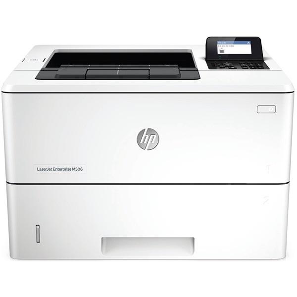HP Lézernyomtató LJ Enterprise M506dn, fekete, 512MB, USB/Háló, A4 43lap/perc FF, 1200x1200, duplex