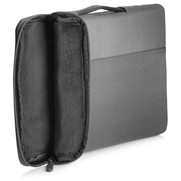 "HP NB 15.6"" Crosshatch Carry Sleeve, szürke, keresztcsíkos"