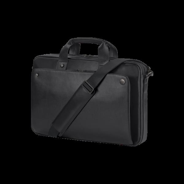 HP NB táska Executive Black Leather Top Load, 15.6