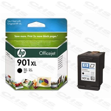 HP Patron CC654AE, No901XL, fekete, Officejet