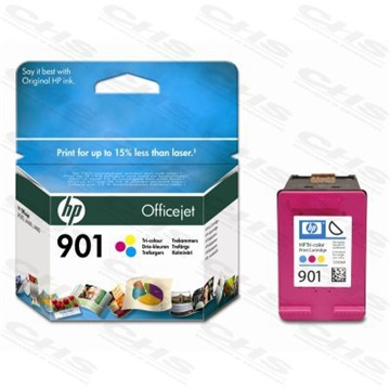 HP Patron CC656AE, No901, Tri-colour, Officejet