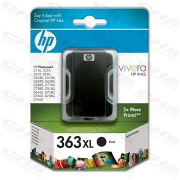 HP Patron No363 fekete Large 17ML