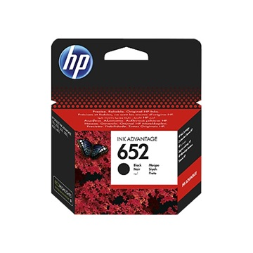 HP Patron No 652 fekete tintapatron Ink Advantage