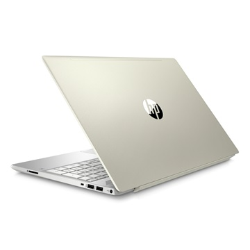 "HP Pavilion 15-CS0012NH 15,6"" FHD AG IPS,Core i5-8250U,8GB,128 GB SSD+1TB HDD,Nvidia GeForce MX150 2GB,WIN10,Arany,3 év"