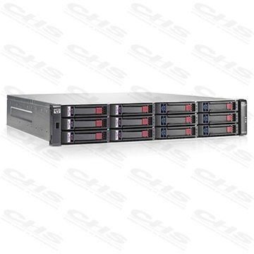 HP StorageWorks P2000 G3 MSA FC/iSCSI Dual Combo Controller LFF Refurbished Array