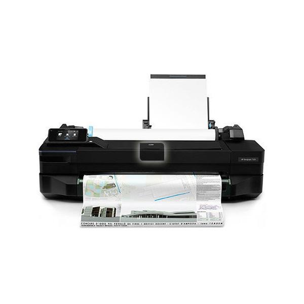 HP Tintasugaras PLOTTER Designjet T120 A1 nyomtató, színes, 256MB, USB/LAN/WIFI, 1200x1200, A1 #B19