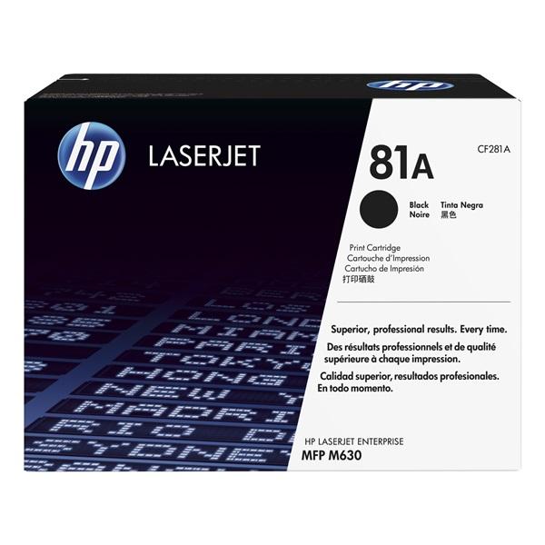 HP Toner (81A) CF281A fekete 10500/oldal