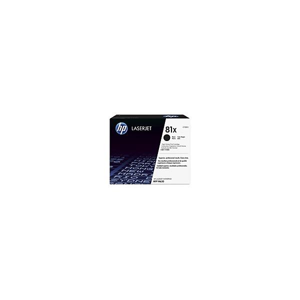 HP Toner (81X) CF281X fekete 25000/oldal