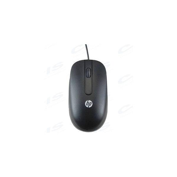 HP (Bulk, 100 db) Vezetékes egér, USB, Scroll, Lézer, fekete