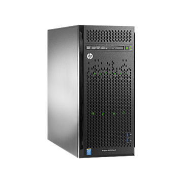 HP torony szerver ProLiant ML110 G9, 6C E5-2620v3 2.4GHz, 8GB, No HDD, B140i, 350W