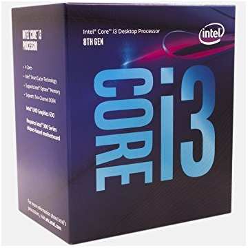 INTEL CPU S1151 Core i3-8100 3.6GHz 6MB Cache BOX