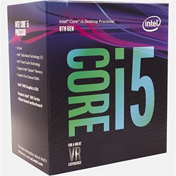 INTEL CPU S1151 Core i5-8400 2.8GHz 9MB Cache BOX