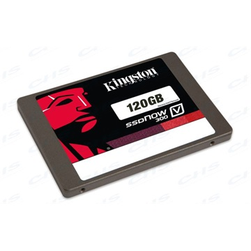 "KINGSTON 2.5"" SSD SATA3 120GB Solid State Disk, V300, 7mm + 9.5mm adapter"
