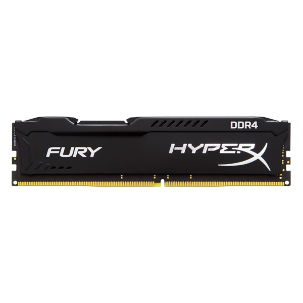 KINGSTON Memória HYPERX DDR4 4GB 2400MHz CL15 DIMM Fury Black