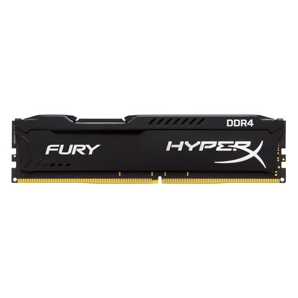 KINGSTON Memória HYPERX DDR4 4GB 2400MHz CL15 DIMM Fury Black