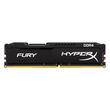 KINGSTON Memória HYPERX DDR4 8GB 2400MHz CL15 DIMM Fury Black