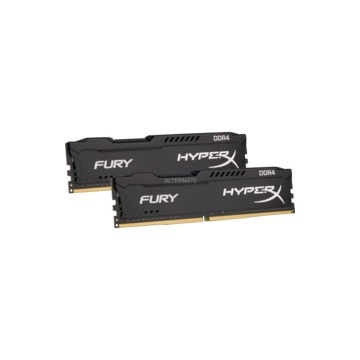 KINGSTON Memória HYPERX DDR4 8GB 2666MHz CL15 DIMM (Kit of 2) Fury Black