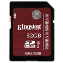 KINGSTON Memóriakártya SDHC 32GB UHS-I Speed Class 3 (90/80)