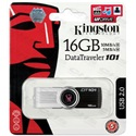 KINGSTON Pendrive 16GB, DT101G2, fekete