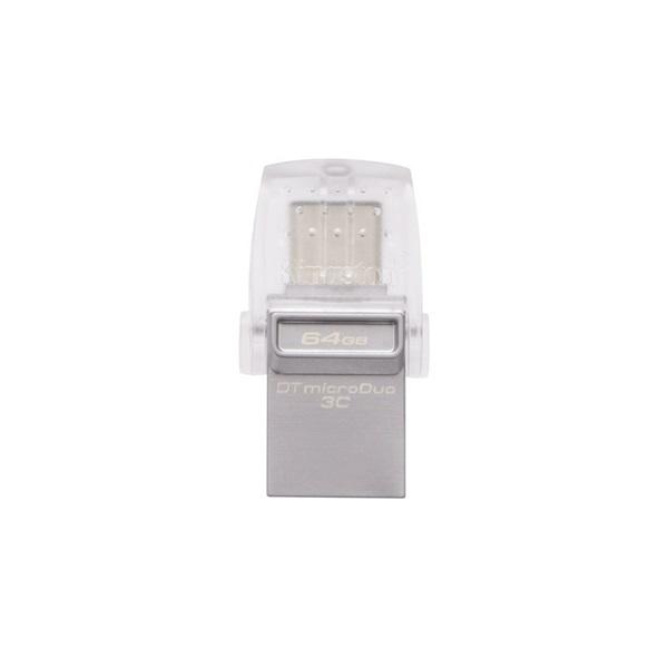 KINGSTON Pendrive 64GB, DT MicroDuo 3C USB 3.0 + Type C (100/15)