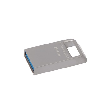 KINGSTON Pendrive 64GB, DT Micro USB 3.1/3.0 Type-A, fém (100/15)