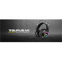 KWG Gaming headset TAURUS M1 RGB USB+3,5mm jack