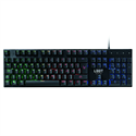 L33T Gaming OSEBERG SEMI-MECHANICAL W.Rainbow (US Layout) Gamer billentyűzet