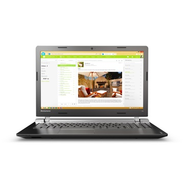 "LENOVO IdeaPad 100-15IBD, 15.6"" HD, Intel Core i5-5200, 4GB, 500GB HDD, ODD, DOS, Black"
