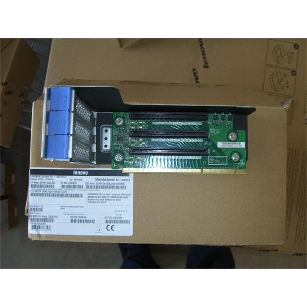LENOVO rack szerver System x3650 M5, PCIe Riser (2 x8 FH/FL + 1 x8 FH/HL Slots)