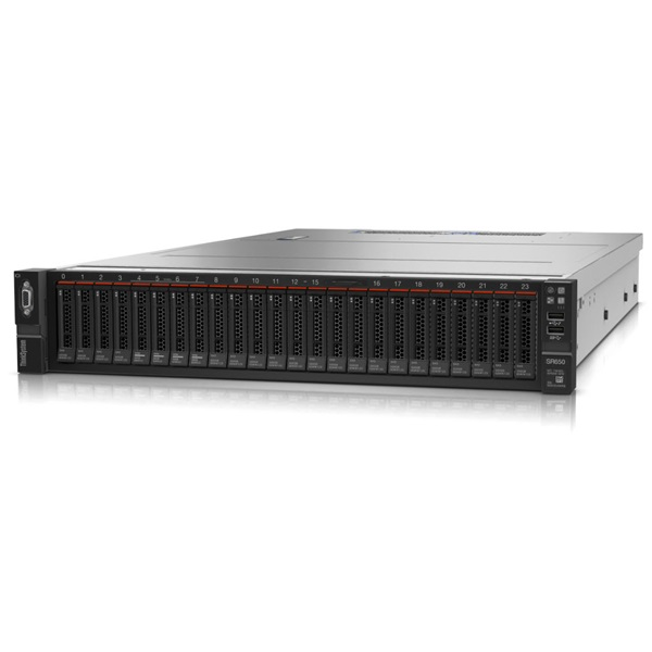 LENOVO rack szerver ThinkSystem SR650 (2.5