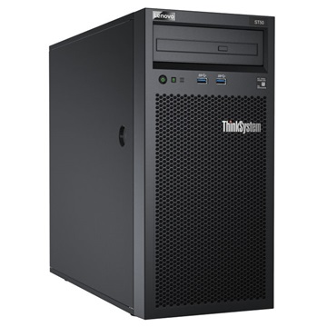 "LENOVO torony szerver ThinkSystem ST50 (3.5""). 6C E-2126G 3.3Ghz, 1x16GB, 2x 2TB HDD, Software RAID."