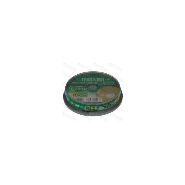 MAXELL DVD lemez +R 4.7GB 10db/Henger 16x