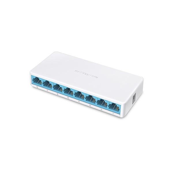MERCUSYS Switch 8x100Mbps, Műanyagházas Asztali, MS108