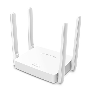 MERCUSYS Wireless Router Dual Band AC1200 1xWAN(100Mbps) + 2xLAN(100Mbps), AC10