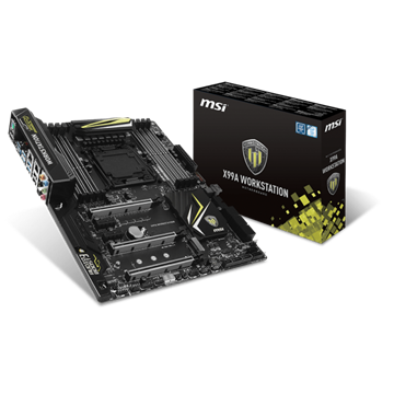 MSI Alaplap S2011 X99A WORKSTATION Intel X99, ATX